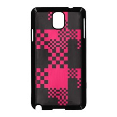 Cube Square Block Shape Creative Samsung Galaxy Note 3 Neo Hardshell Case (black) by Simbadda