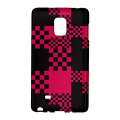 Cube Square Block Shape Creative Galaxy Note Edge by Simbadda