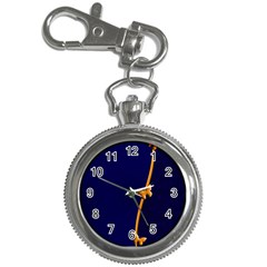 Greeting Card Invitation Blue Key Chain Watches by Simbadda