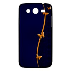 Greeting Card Invitation Blue Samsung Galaxy Mega 5 8 I9152 Hardshell Case  by Simbadda