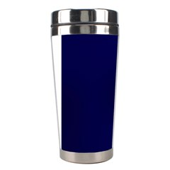 Greeting Card Invitation Blue Stainless Steel Travel Tumblers by Simbadda
