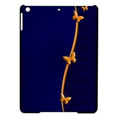 Greeting Card Invitation Blue Ipad Air Hardshell Cases by Simbadda