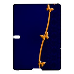 Greeting Card Invitation Blue Samsung Galaxy Tab S (10 5 ) Hardshell Case  by Simbadda