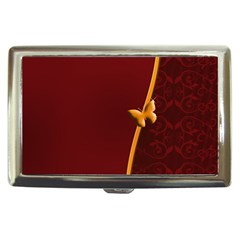 Greeting Card Invitation Red Cigarette Money Cases by Simbadda