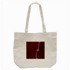 Greeting Card Invitation Red Tote Bag (cream) by Simbadda