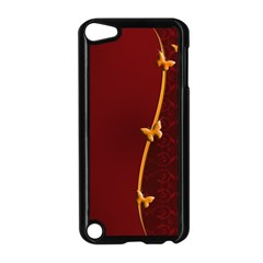 Greeting Card Invitation Red Apple Ipod Touch 5 Case (black) by Simbadda