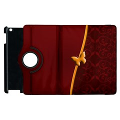 Greeting Card Invitation Red Apple Ipad 2 Flip 360 Case by Simbadda