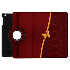 Greeting Card Invitation Red Apple Ipad Mini Flip 360 Case by Simbadda
