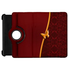 Greeting Card Invitation Red Kindle Fire Hd 7  by Simbadda
