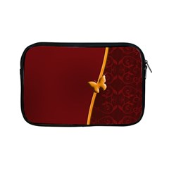 Greeting Card Invitation Red Apple Ipad Mini Zipper Cases by Simbadda