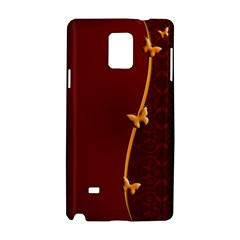 Greeting Card Invitation Red Samsung Galaxy Note 4 Hardshell Case by Simbadda