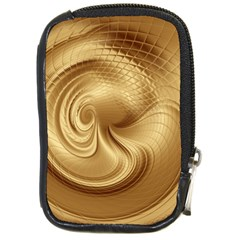 Gold Background Texture Pattern Compact Camera Cases by Simbadda