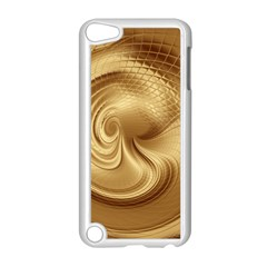 Gold Background Texture Pattern Apple Ipod Touch 5 Case (white) by Simbadda