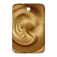 Gold Background Texture Pattern Samsung Galaxy Note 8 0 N5100 Hardshell Case  by Simbadda