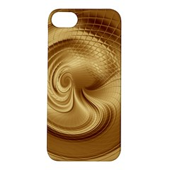 Gold Background Texture Pattern Apple Iphone 5s/ Se Hardshell Case by Simbadda