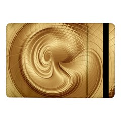 Gold Background Texture Pattern Samsung Galaxy Tab Pro 10 1  Flip Case by Simbadda