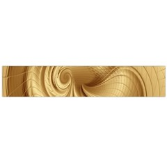 Gold Background Texture Pattern Flano Scarf (large) by Simbadda