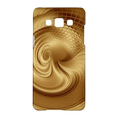Gold Background Texture Pattern Samsung Galaxy A5 Hardshell Case  by Simbadda