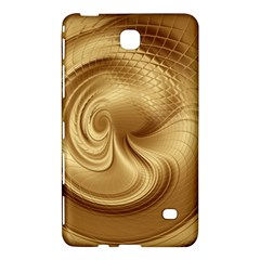 Gold Background Texture Pattern Samsung Galaxy Tab 4 (7 ) Hardshell Case  by Simbadda