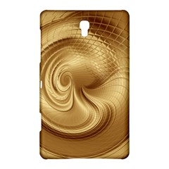 Gold Background Texture Pattern Samsung Galaxy Tab S (8 4 ) Hardshell Case  by Simbadda