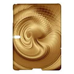 Gold Background Texture Pattern Samsung Galaxy Tab S (10 5 ) Hardshell Case  by Simbadda
