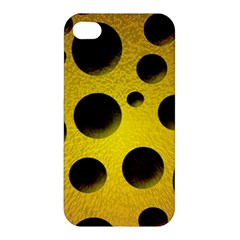 Background Design Random Balls Apple Iphone 4/4s Hardshell Case by Simbadda