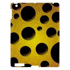 Background Design Random Balls Apple Ipad 3/4 Hardshell Case by Simbadda