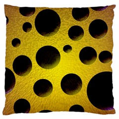 Background Design Random Balls Large Cushion Case (two Sides) by Simbadda