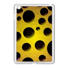 Background Design Random Balls Apple Ipad Mini Case (white) by Simbadda