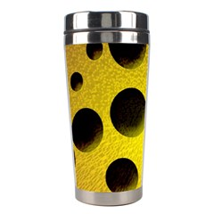 Background Design Random Balls Stainless Steel Travel Tumblers by Simbadda