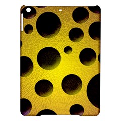 Background Design Random Balls Ipad Air Hardshell Cases by Simbadda