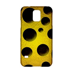 Background Design Random Balls Samsung Galaxy S5 Hardshell Case  by Simbadda