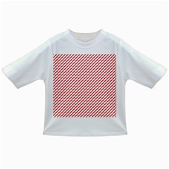 Pattern Red White Background Infant/toddler T Shirts by Simbadda