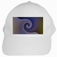 Logo Wave Design Abstract White Cap by Simbadda