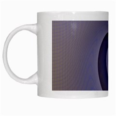 Logo Wave Design Abstract White Mugs by Simbadda
