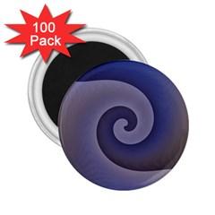 Logo Wave Design Abstract 2 25  Magnets (100 Pack)  by Simbadda