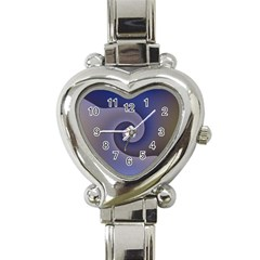 Logo Wave Design Abstract Heart Italian Charm Watch by Simbadda