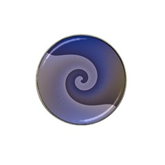 Logo Wave Design Abstract Hat Clip Ball Marker (4 Pack)