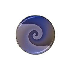 Logo Wave Design Abstract Hat Clip Ball Marker (10 Pack) by Simbadda