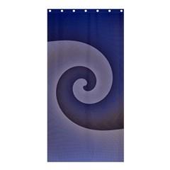 Logo Wave Design Abstract Shower Curtain 36  X 72  (stall)  by Simbadda