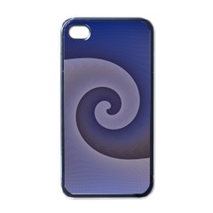 Logo Wave Design Abstract Apple Iphone 4 Case (black) by Simbadda