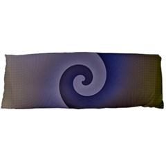 Logo Wave Design Abstract Body Pillow Case Dakimakura (two Sides) by Simbadda