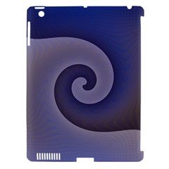 Logo Wave Design Abstract Apple Ipad 3/4 Hardshell Case (compatible With Smart Cover) by Simbadda