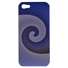 Logo Wave Design Abstract Apple Iphone 5 Hardshell Case by Simbadda