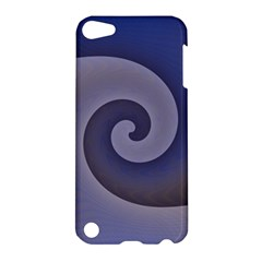 Logo Wave Design Abstract Apple Ipod Touch 5 Hardshell Case by Simbadda