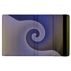 Logo Wave Design Abstract Apple Ipad 3/4 Flip Case by Simbadda