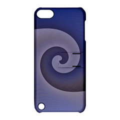Logo Wave Design Abstract Apple Ipod Touch 5 Hardshell Case With Stand by Simbadda