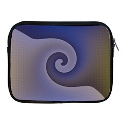 Logo Wave Design Abstract Apple Ipad 2/3/4 Zipper Cases by Simbadda