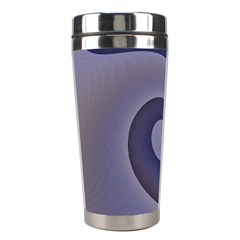 Logo Wave Design Abstract Stainless Steel Travel Tumblers by Simbadda
