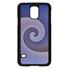 Logo Wave Design Abstract Samsung Galaxy S5 Case (black) by Simbadda